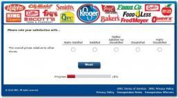 Screenshot Of Krogeryfeedback Survey 6
