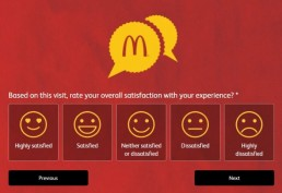 Screenshot Of Mcdonald's Australia Feedback Form 5
