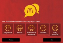 Screenshot Of Mcdonald's Australia Feedback Form 6
