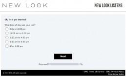 Screenshot Of New Looks Listens Survey 1