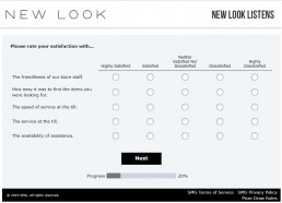 Screenshot Of New Looks Listens Survey 5