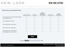 Screenshot Of New Looks Listens Survey 6