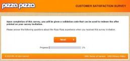 Screenshot Of Pizza Pizza Survey 11