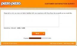 Screenshot Of Pizza Pizza Survey 3