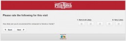 Screenshot Of Pizza Ranch Feedback Form 10
