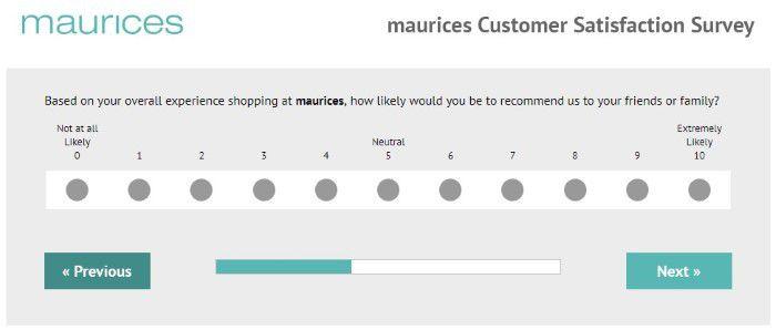 Screenshot Of Tellmaurices Survey 2