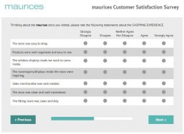 Screenshot Of Tellmaurices Survey 4