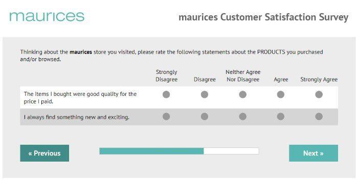 Screenshot Of Tellmaurices Survey 7