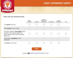 Screenshot Of Tellpopeyes Survey 3