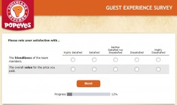 Screenshot Of Tellpopeyes Survey 4