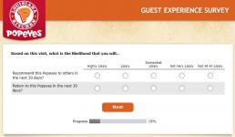 Screenshot Of Tellpopeyes Survey 5