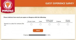 Screenshot Of Tellpopeyes Survey 6