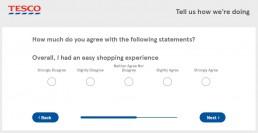 Screenshot Of Tescoviews Survey 6