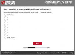 Screenshot Of Tractor Supply Survey 7