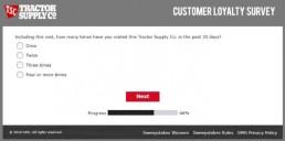 Screenshot Of Tractor Supply Survey 9