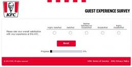 Screenshot Of Yourkfc Uk Survey 3
