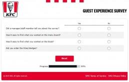Screenshot Of Yourkfc Uk Survey 6