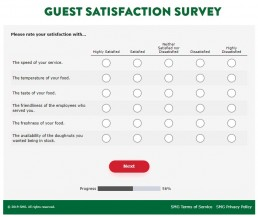 Screenshot Of Mykrispykremeexperience.com.ph Survey 3