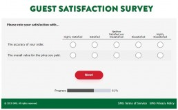 Screenshot Of Mykrispykremeexperience.com.ph Survey 4