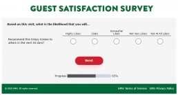Screenshot Of Mykrispykremeexperience.com.ph Survey 5