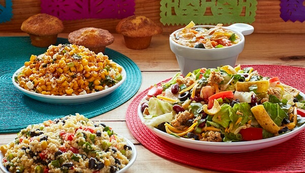 Some Of The Meals Available On Souplantations Menu