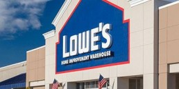 Storefront Of Lowes Location