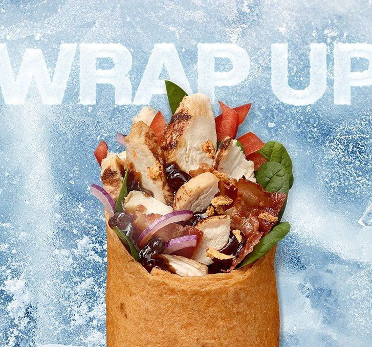 Subway Wrap In England