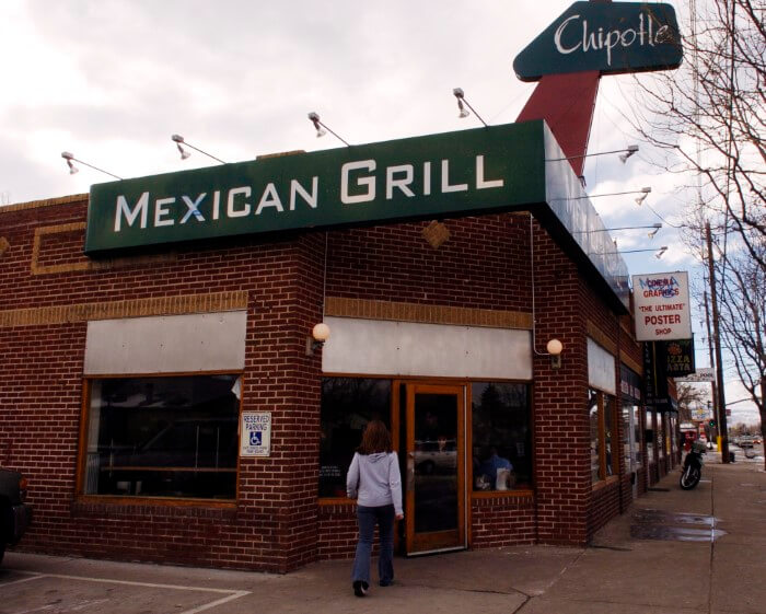 The First Chipotle Store In Denver