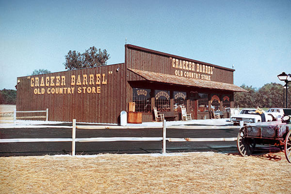 The First Cracker Barrel In 1969