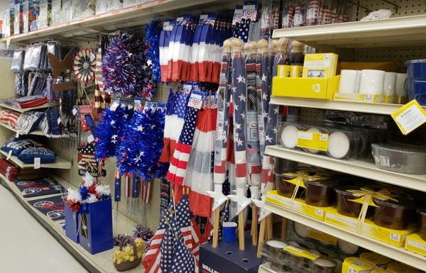 Us Theme Merchandise On Sale At Big Lots