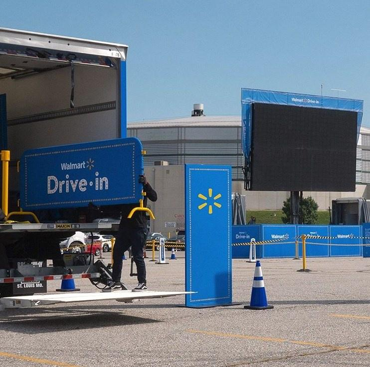 Walmart Taking Into Account Survey Feedback And Opening A Drive In Movie Theater