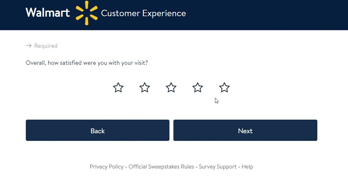 What Is Your Overall Satisfaction Rating Of Your Walmart Survey Experience